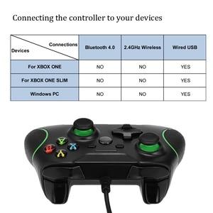 Image 2 - USB Wired בקר Controle עבור Microsoft Xbox אחת בקר Gamepad עבור Xbox אחת Slim PC Windows Mando עבור Xbox אחד ג ויסטיק