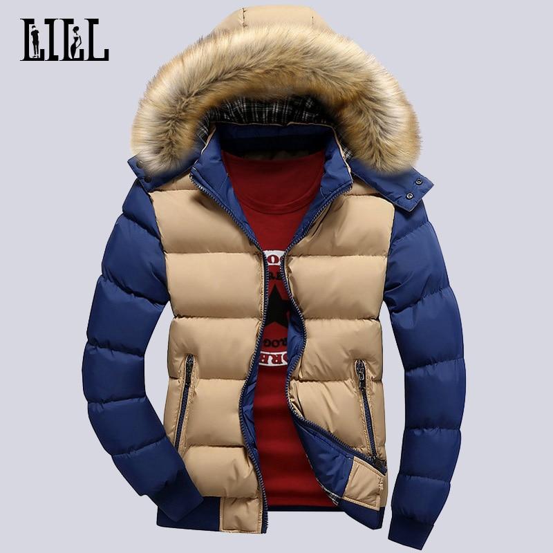 남자의 겨울 따뜻한 다운 재킷과 코트 남자 Windproof 두꺼운 남자의 통기성 면화 패딩 캐주얼 폭탄 재킷 4XL, UMA271
