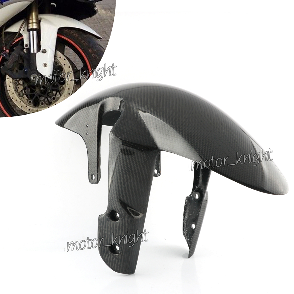 New Carbon Fiber Front Tire Fender Mud Guard GSXR Fairing For Suzuki GSXR600 GSXR750 2006-2010 GSXR1000 2005-2008 K5 K6 K7 K8