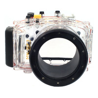 Meikon 40M Waterproof Underwater Housing Case for Panasonic Lumix GF3 14 42MM