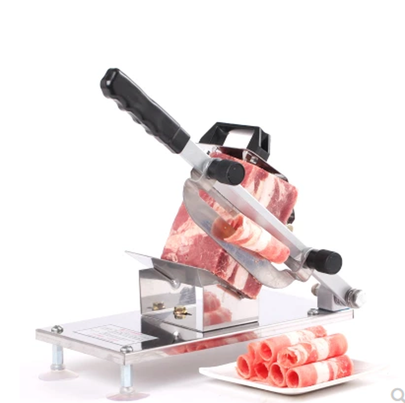 Automatic Meat Mutton Slicer Manual Slicer Commercial Meat Slicer, Beef and Mutton Roll and Slicing Machine. free shipping ht 4 commercial manual tomato slicer onion slicing cutter machine vegetable cutting machine
