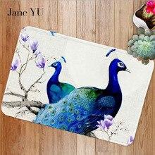 JaneYU 2019 New Animal mat doormat digital printing pad bathroom kitchen cartoon long absorbent quality