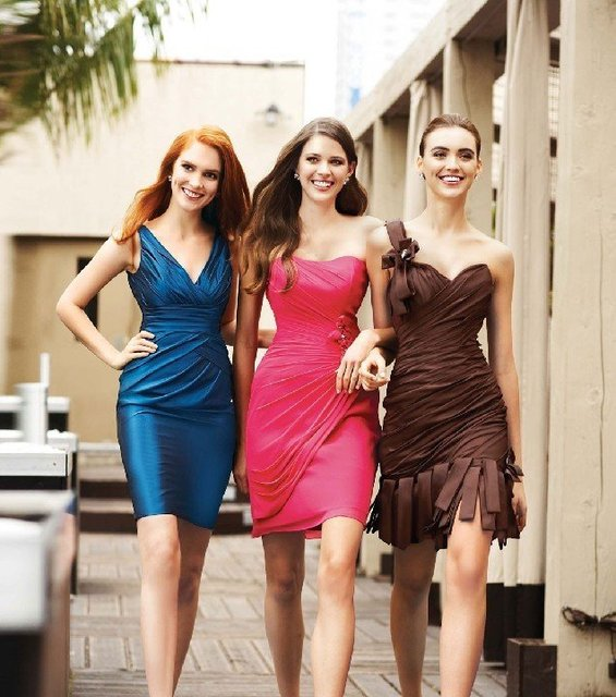 Rush Shipping  within 2 days bridesmaid dress