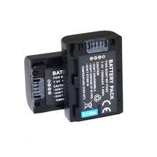 Conenset 2 pc bateria para sony dsc-hx1 dsc-hx100v dsc-hx100 dsc-hx200 dsc-hx200v câmera bc-vh1 bc-bc trp-trv ac-vqp10