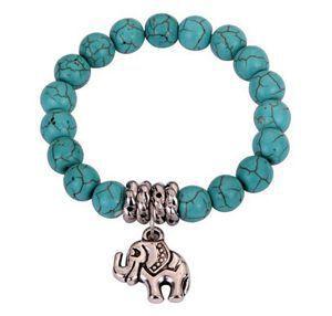 Bracelet En Turquoise Véritable