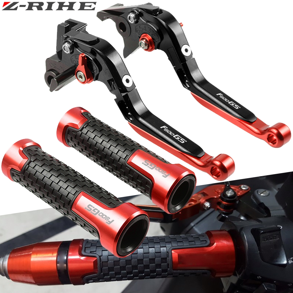 Motorcycle CNC Adjustable Brake Clutch Lever Handle Hand Grips For BMW F800GS F800 GS F 800