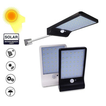 Aluminum pole Luz Solar light 36 led Waterproof Outdoor lamp Garden Lights Sunlight LED spotlight floodlight road lights