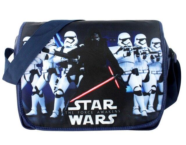 2018 Hot Messenger Bag Cartoon Star Wars Darth Vader Storm Trooper Book For Kids