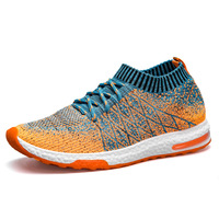 FABRECANDY New Breathable Mesh Summer Men Casual Shoes Slip On Male Fashion Footwear Walking Unisex Couples