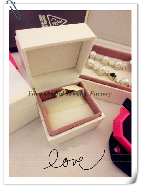 678afae391 Jewelry Packaging Box 5*5*4cm Compatible with Pandora Jewelry Velvet Box  Charms Beads Ring Box Jewelry Gift Display Cases Boxes