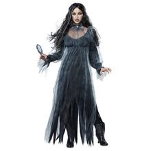popular halloween dead corpse bride costume women long dress scary zombie ghost bridal cosplay
