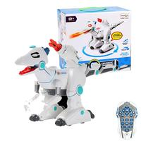 Multi function Remote Control Machine Dinosaur Lighting Sound Children's Toy Interaction With Spray Hair Electric Dinosaur Toy