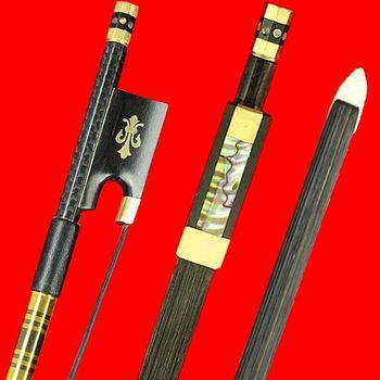 Carbon fiber lattice 4/4 4/4 violin bow carbon fibre violin bow pure tone 60g