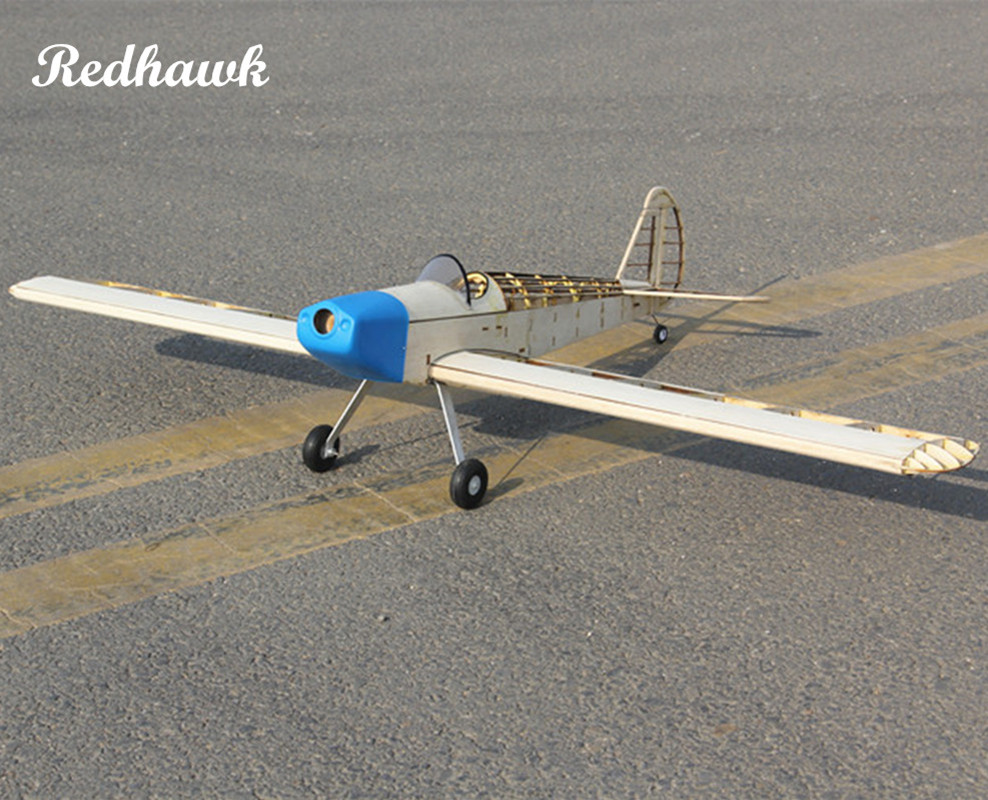RC Plane Laser Cut Balsa Wood Airplane Kit 2.5cc(nitro) Wingspan 1000mm New Spacewal Fra ...