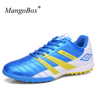 New Football Shoes Low Top Sneakers Men Turf Soccer Shoes Comfortable Soccer Cleats Kids Football Sneakers