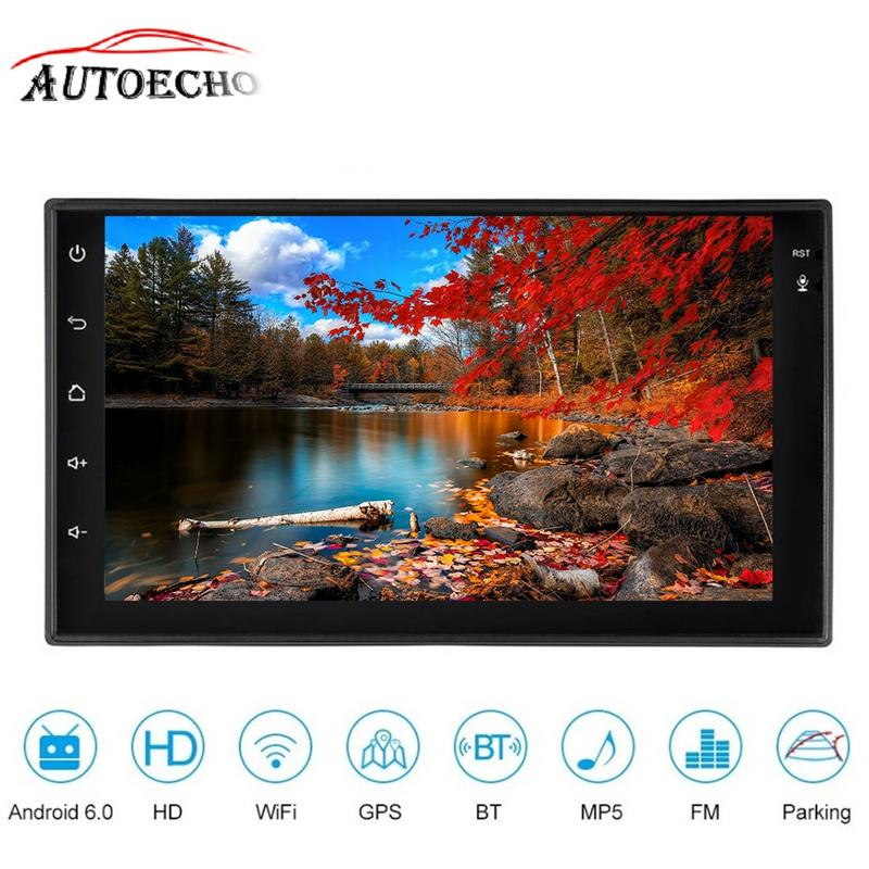 7 Car Multimedia Player Android6.0 2 Din Car MP4/MP5/Video/Audio/Radio/FM Player GPS Navigator Support Wifi Phone Connect DVR navigator 71 422 nls 5050y30 7 2 ip20 12b r5 5 4670004714225 220235