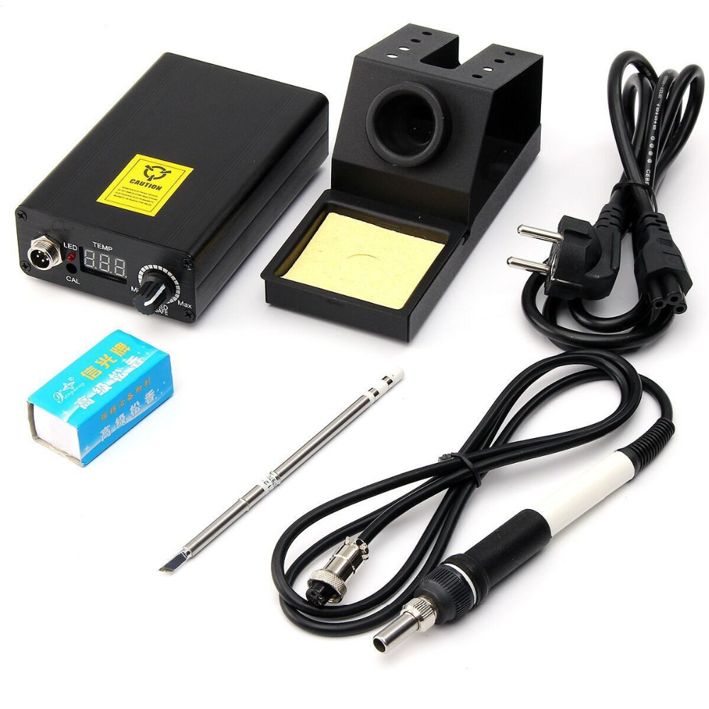 T12-D Digital Soldering Iron Rework Station Adjustable Temperature T12 Welding Handle  цены