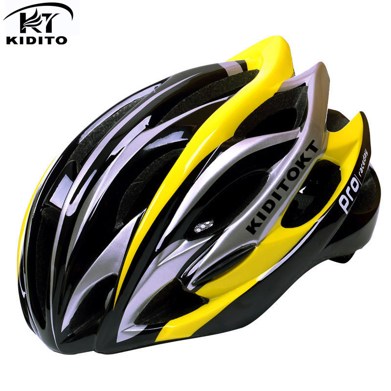 KIDITOKT Road Mountain Cycling Helmet  With Insect Net Cycle Helmet In-mold Bicycle Helmet Ultralight Bike Helmet Casco Ciclismo