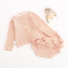 Kids Baby Ruffles Long Sleeves Clothing Sets