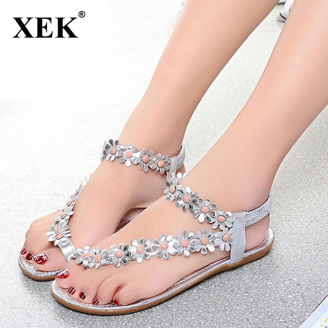 77a2bdfb9be Cuculus 2018 Women Sandals Summer Style Bling Bowtie Fashion Peep Toe Jelly  Shoes Sandal Flat Shoes Woman 3 Colors JDD38