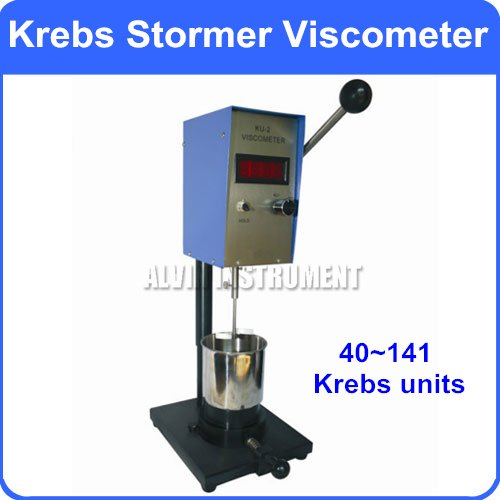 Digitale Krebs Stormer Viskosimeter Viskosität Meter Reichweite: 40 ~ 141 KU Auflösung: 0,1 Kreb einheit Genauigkeit: +-2% FS