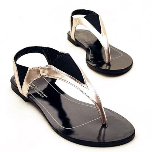 1c148e2a0c8c Flip-Flops Summer Style 2015 Ladies Shoe Mature Casual Women Sandals Patch  Geometric Women s Flats XWZ1268