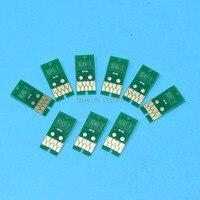 9 цветов * 700 мл один раз чип T8041 T8049 для epson p6000 p7000 p8000 p9000 принтер пополнения Картридж