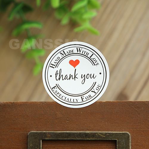 100pcs/lot Gift seal stickers Handmade for love Thank you sticker Stationery Packing label Office zakka supplies (dd-1423)100pcs/lot Gift seal stickers Handmade for love Thank you sticker Stationery Packing label Office zakka supplies (dd-1423)