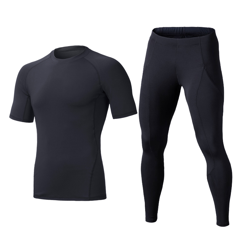 Kids Running Pants Compression Sportwear Boys Sports Leggings Basketball Football Trousers Legging Shirts Tights Joggers Shirt