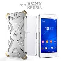 Simon Thor Iron Man For Sony Xperia Z4 Case Metal Cover Aviation Aluminum Rugged Armor Phone