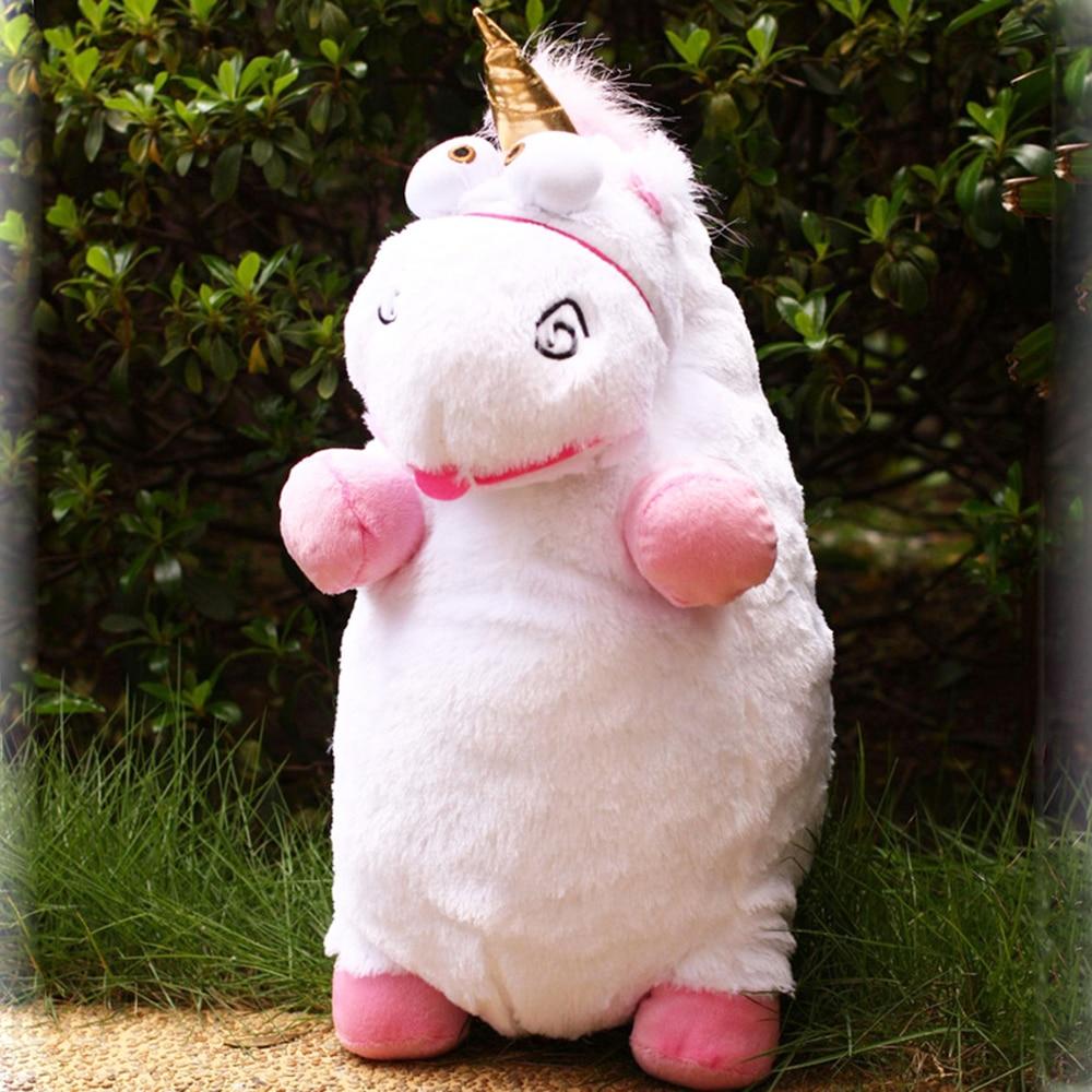 Juguete de peluche Unicornio de BOLAFYNIA, juguetes de peluche para bebé niño regalo de cumpleaños