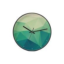 Colorful Watch Wall Clock Mechanism Kitchen Big Watches Home Decor Designer Wallclock Klok Living Room Decoration 50KO537