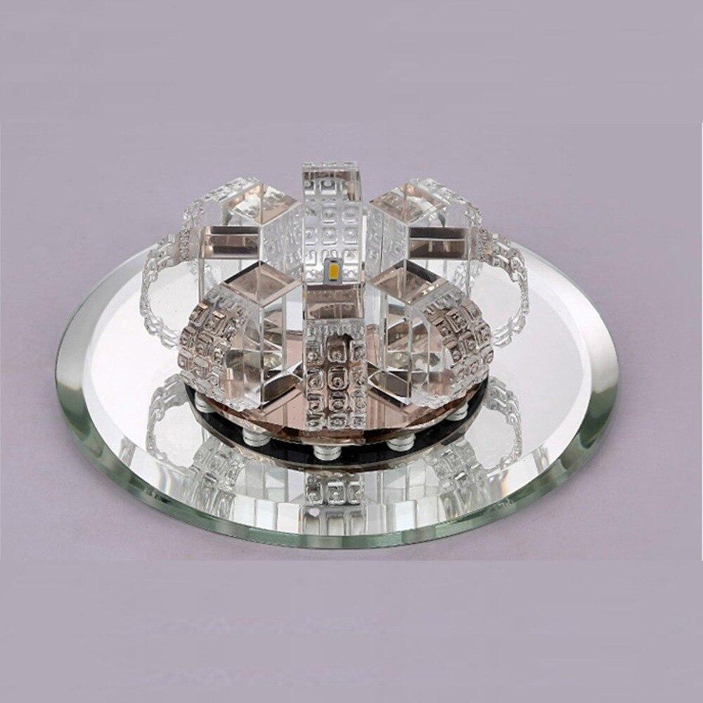 ANTINIYA Modern Crystal LED Ceiling Lamp Ceiling Light Fixture Lighting Ceiling Lights For Living Room Aisle Corridor Kitchen
