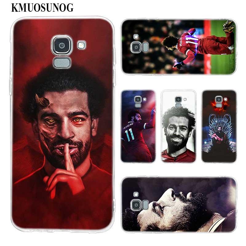 Transparent Soft Silicone Phone Case Mohamed M.Salah 11 For Samsung Galaxy j8 j7 j6 j5 j4 j3 Plus 2018 2017 Prime