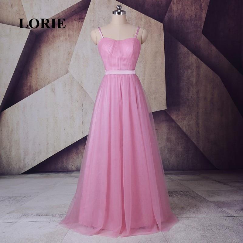 Online Get Cheap Rosado Del Satén Largo Vestido De Fiesta ...