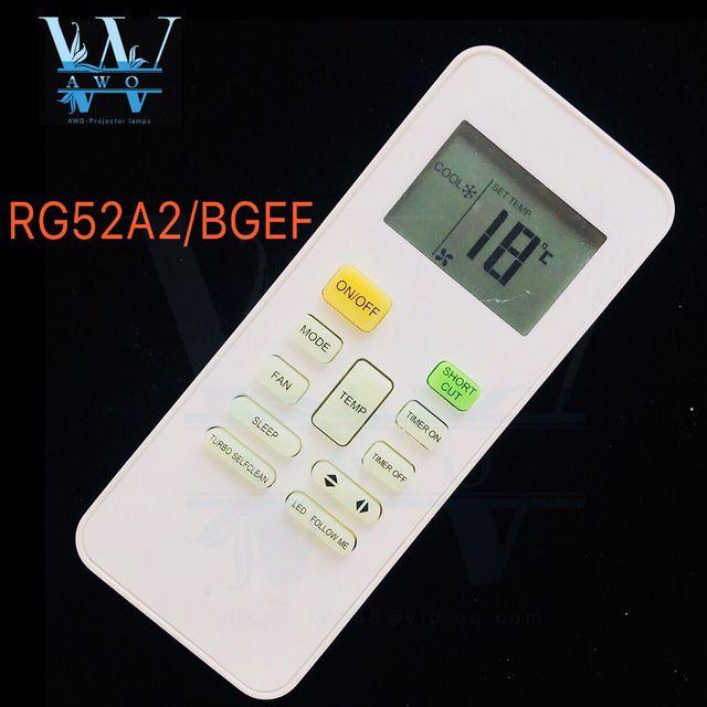 AWO 1 pièces nouveau RG52A2/bfem pour midea télécommande universelle ac pour climatiseur climatiseur
