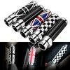 Color Carbon Fiber Handbrake Grips Emergency Cover Trim For BMW Mini Cooper Clubman R55 R56 R57