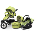 Leybold BabyBoom stroller baby stroller high landscape light off-road stroller can sit lie stroller  free delivery