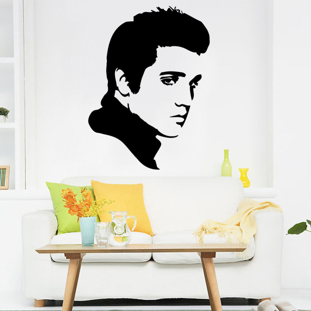 Aliexpresscom  Buy ELVIS PRESLEY Wall Decal Sticker Vinyl Decals - How to make vinyl wall decals with silhouette