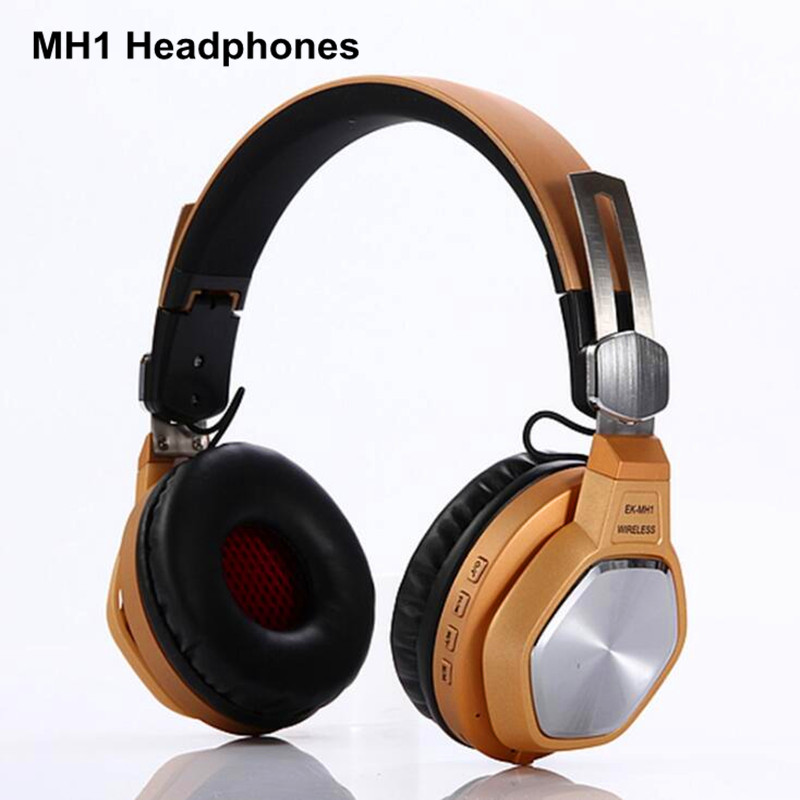 New MH1 Colorful stereo Audio Mp3 Bluetooth Headset Headphones Wireless Headphone Sport Earphone For Samsung Xiaomi Phone