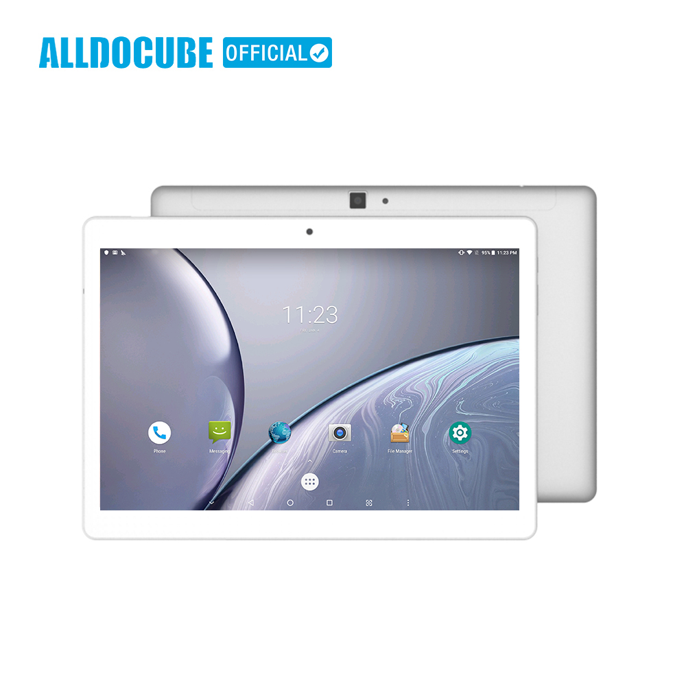ALLDOCUBE M5X 10.1 Pouces 4G Téléphone Appel Tablet PC MTK X27 2560*1600 IPS Android 8.0 Deca core 4 GB RAM 64 GB ROM 5MP GPS Double WIFI