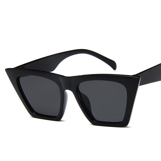 Plastic Vintage Luxury Sunglasses Candy Color Lens Classic Retro 2