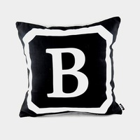 18 18 Boys Kids Personalized Name Initial Throw Cushion Cover 26 Upper Case Letters For Choose