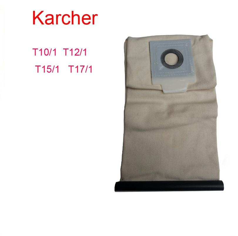 ჱkarcher vacuum cleaner bag Washable Cloth BagsT10/1 T12/1 T15/1 ...