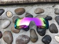 Pink Color Replacement Polarized Lenses for Oakley Oil Rig  Sunglasses 100% UVA & UVB