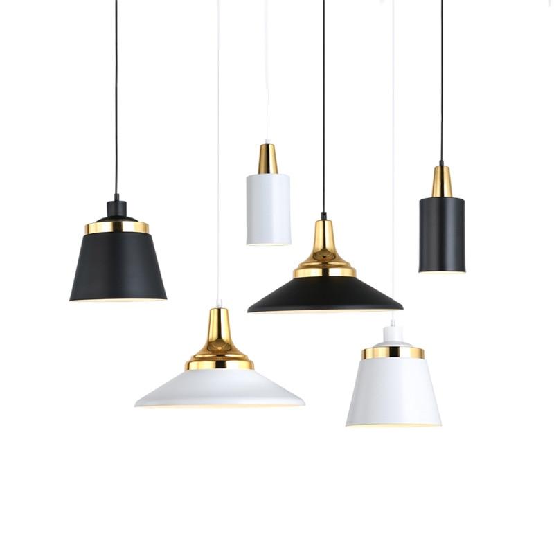 Modern Metal Pendant Light Abc Indoor Lighting Fixture Black White Gold Pendant Lamp Contemporary Hanging Edison Pendant Light Pendant Lights Aliexpress