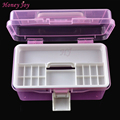 2 Layer Multi Utility Storage Case professional Nail Art box manicure kit nail tool Makeup box large size Small Size