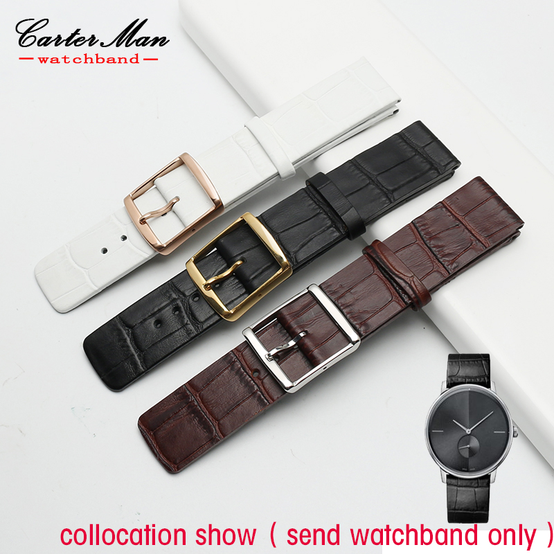 genuine leather strap for K2G211C6/K2G21629/K2Y216K6 watchband Cow leather Fashion Watch Bracelet 16 18 20 22