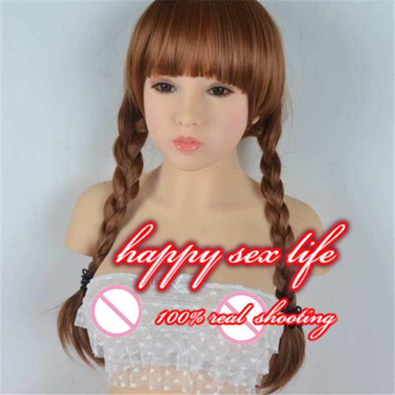 Top quality silicone real font b sex b font font b doll b font with metal