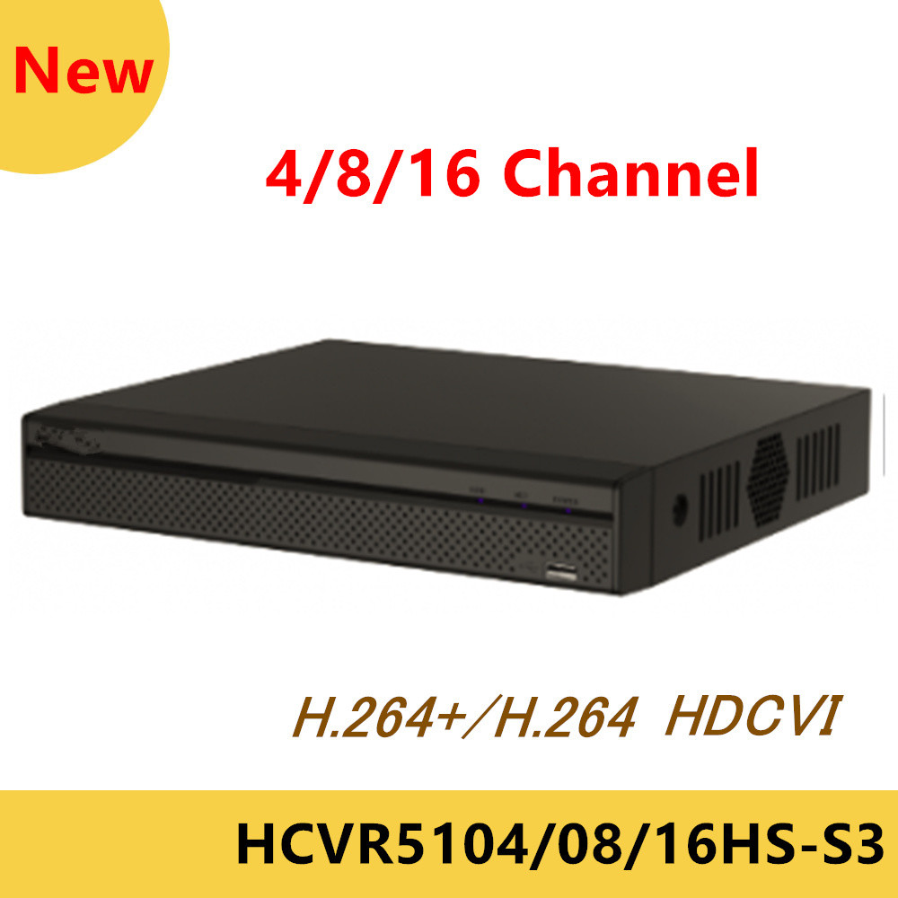 DH HCVR video recorder HCVR5104HS-S3 HCVR5108HS-S3 HCVR5116HS-S3 4ch 8ch 16ch 1080P Support HDCVI/CVBS/IP Camera